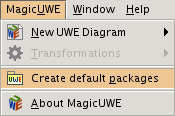 MagicUWE / Create default packages